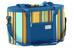 Easy Camp Stripe Koelbox L blauw/bont